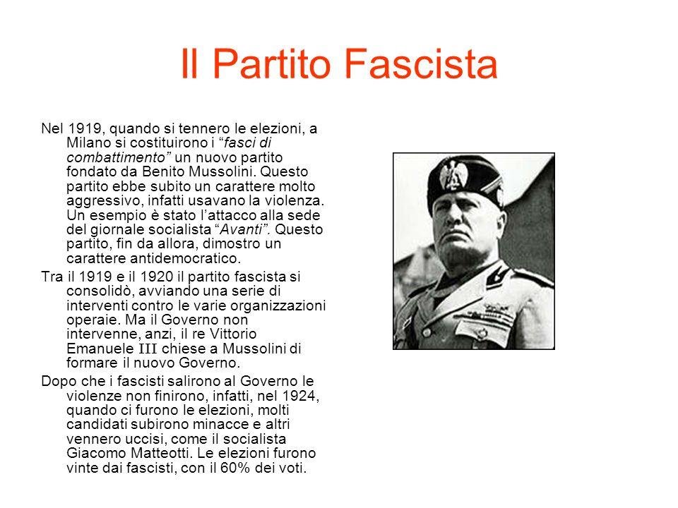 Il Partito Popolare Italiano Il Partito Popolare Italiano fu fondato da Don Luigi Sturzo, dopo la Prima Guerra Mondiale, nel 1919.