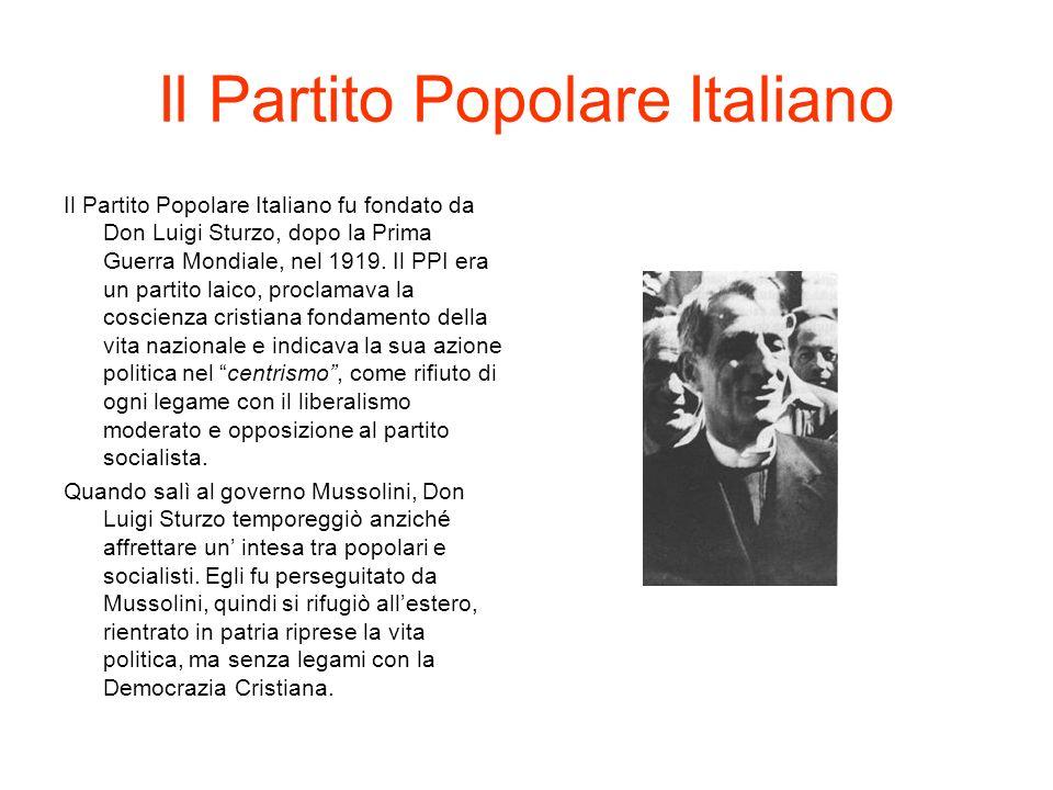 Il Partito Repubblicano Italiano Il Partito Repubblicano Italiano si costituì ufficialmente nel 1895, sorto dalla trasformazione delle società operaie mazziniane.