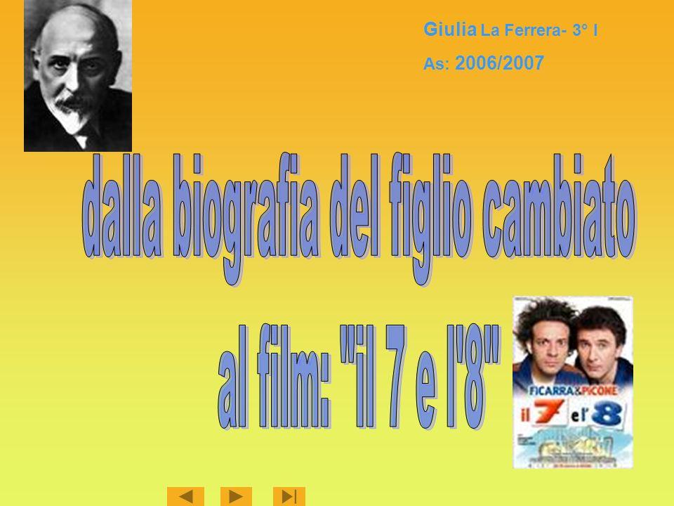 Giulia La Ferrera- 3° I As: 2006/2007