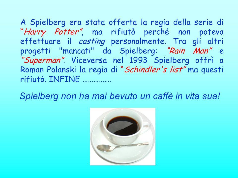 A Spielberg era stata offerta la regia della serie diHarry Potter, ma rifiutò perché non poteva effettuare il casting personalmente. Tra gli altri pro