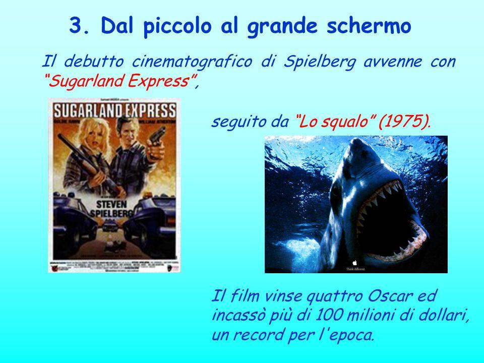seguito da Lo squalo (1975). Il film vinse quattro Oscar ed incassò più di 100 milioni di dollari, un record per l'epoca. Il debutto cinematografico d