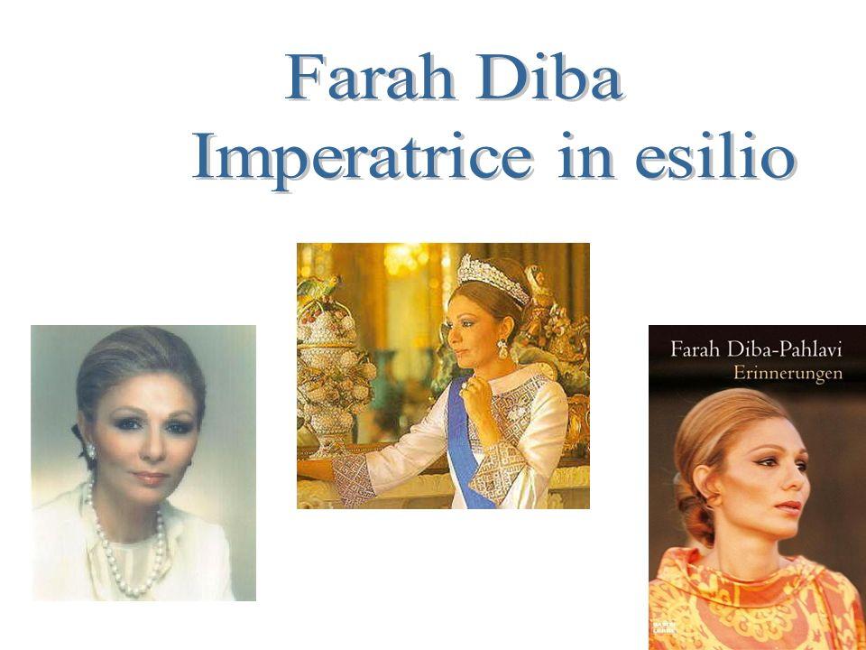 FARAH DIBA IMPERATRICE IN ESILIO.