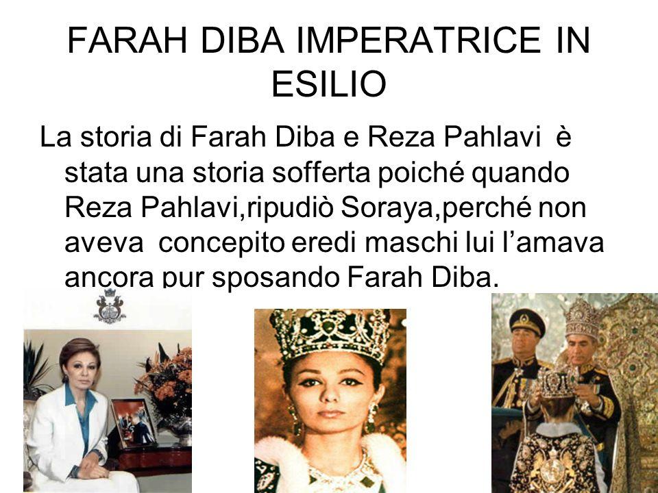 Lettere Queste sono le lettere inviate da Farah Diba