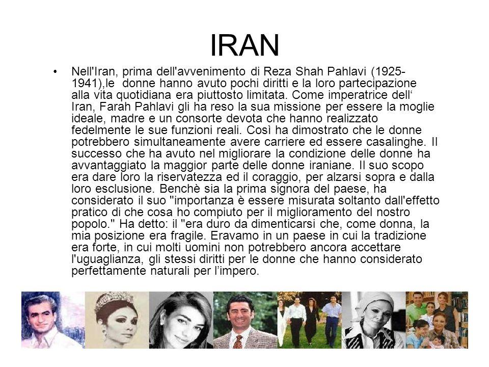 IRAN Negli USA intanto le posizioni in seno all amministrazione americana erano diversificate.