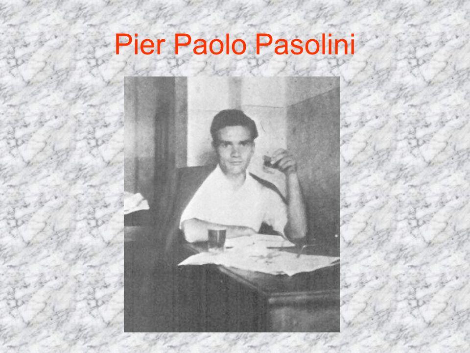 Infanzia e giovinezza Primogenito di Carlo Alberto e Susanna Colussi, Pier Paolo nacque a Bologna il 5 marzo 1922.
