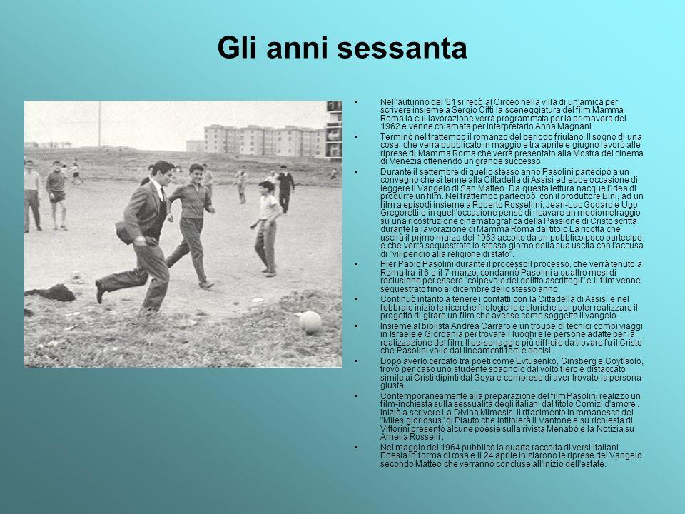Il film, presentato a settembre dello stesso anno a Venezia, venne stroncato all inizio da molti intellettuali di sinistra tra i quali Sciascia e Fortini.