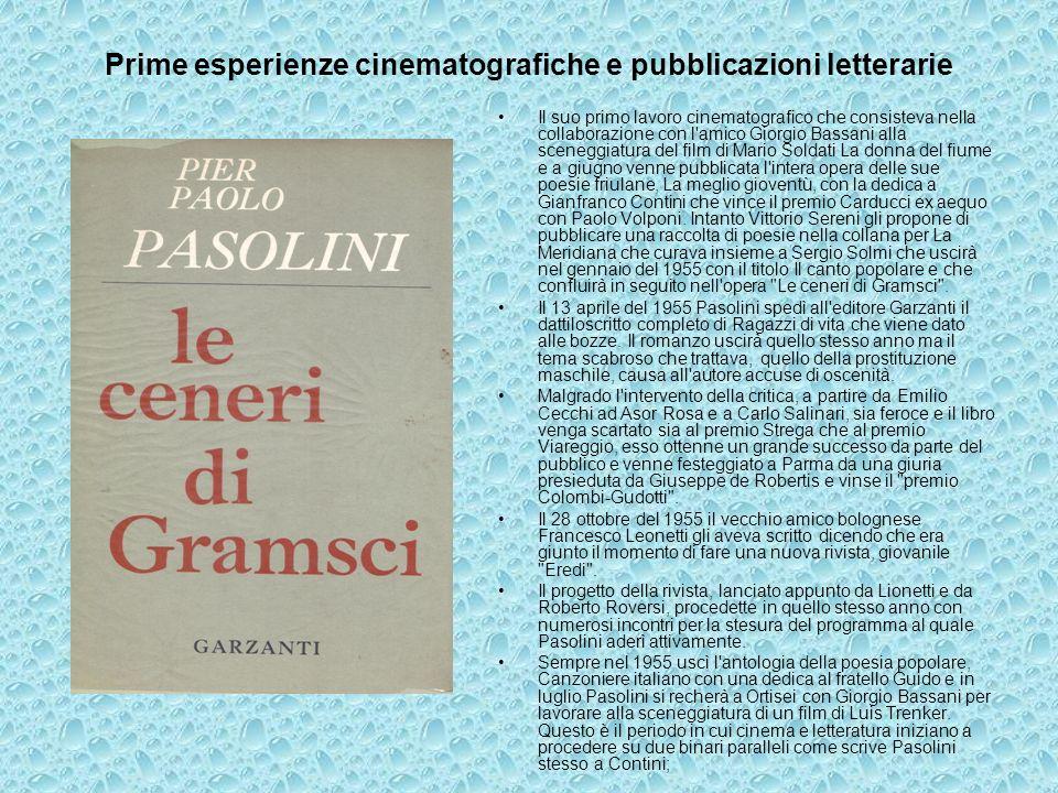 Cineasta e scrittore Nel mese di agosto scrisse la sceneggiatura per il film di Mauro Bolognini, Marisa la civetta, e contemporaneamente collaborò con Fellini alle Notti di Cabiria.