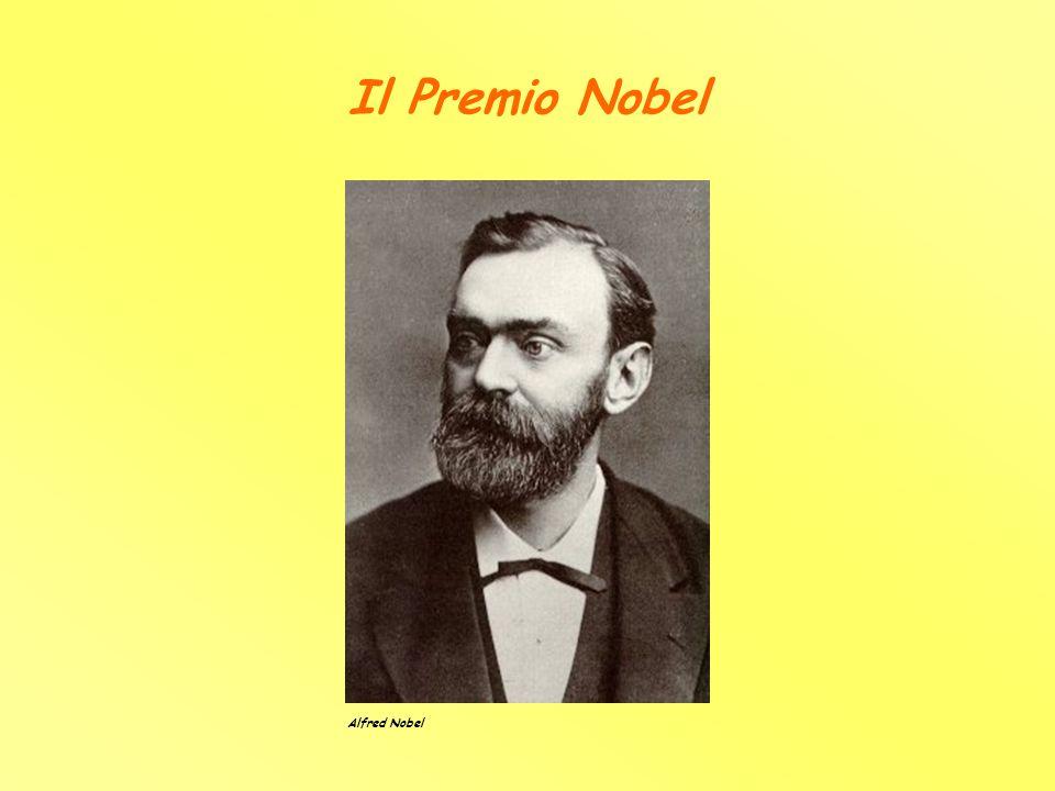 Il Premio Nobel Alfred Nobel