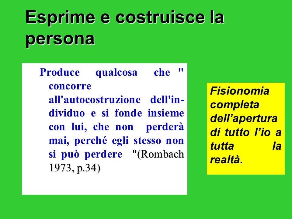 6. Lo studio è promozione: Spinta in avanti; vantaggio per il movimento della ragione verso il reale.
