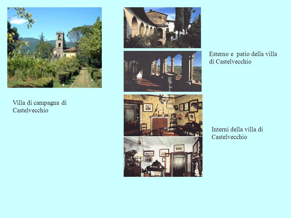 Villa di campagna di Castelvecchio Esterno e patio della villa di Castelvecchio Interni della villa di Castelvecchio