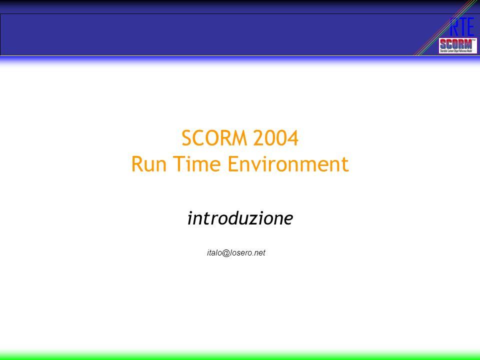 RTE SCORM 2004 bookshelf