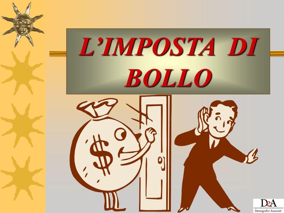 Limposta di bollo Docente Patrizia Strano CAMPOGALLIANO 22 ottobre 2008