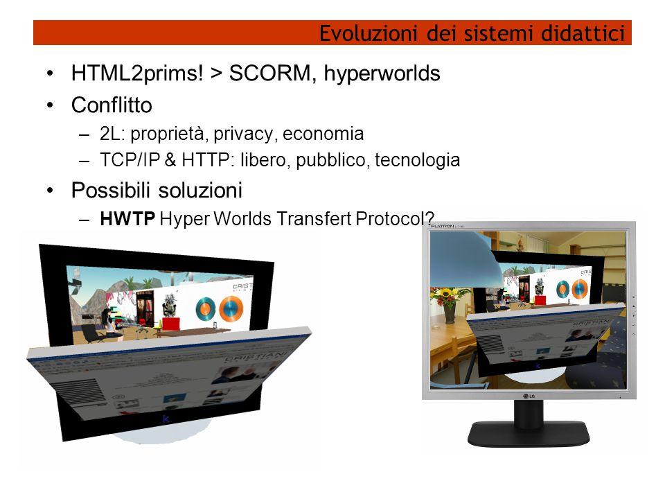 Evoluzioni dei sistemi didattici HTML2prims.