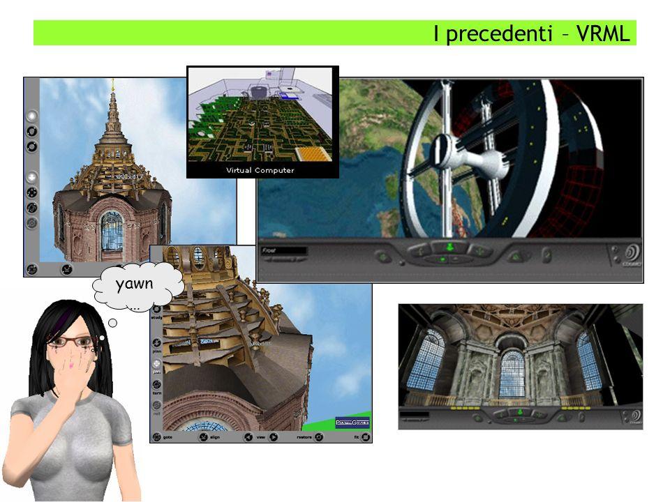 I precedenti – VRML yawn …
