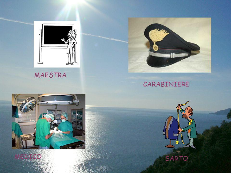 MAESTRA CARABINIERE MEDICO SARTO