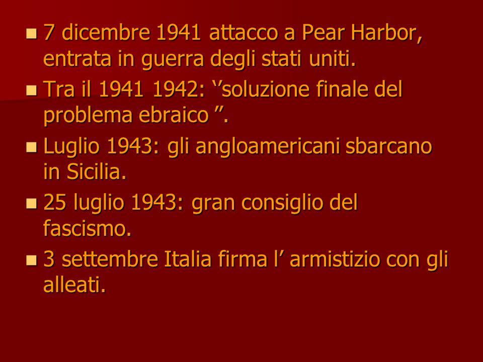 7 dicembre 1941 attacco a Pear Harbor, entrata in guerra degli stati uniti. 7 dicembre 1941 attacco a Pear Harbor, entrata in guerra degli stati uniti