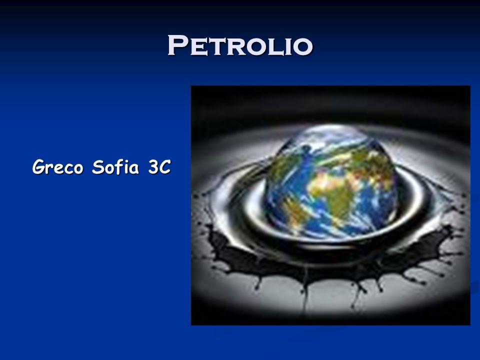 Il Petrolio.
