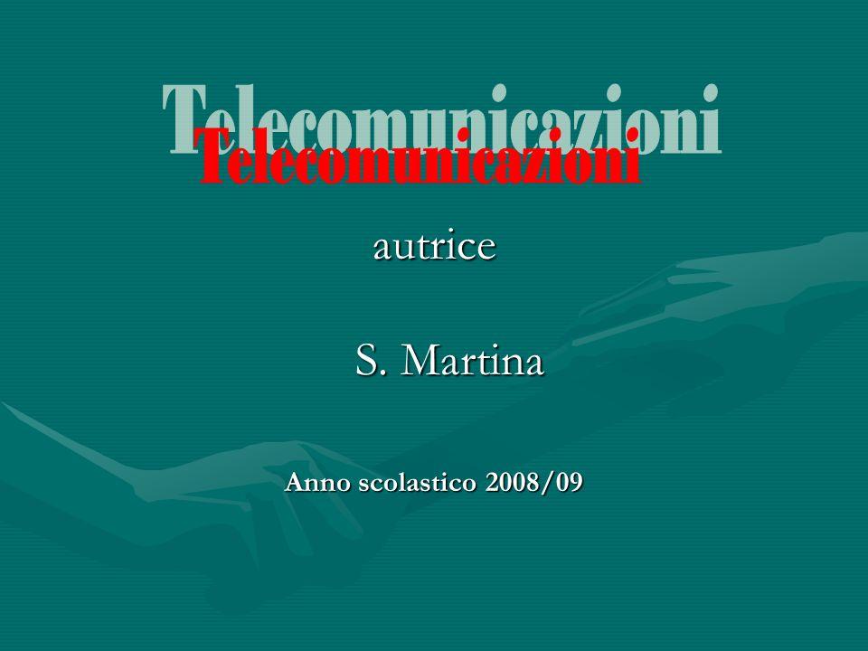 la telecomunicazione è la comunicazione a distanza di suoni, parole immagini o altre informazioni.
