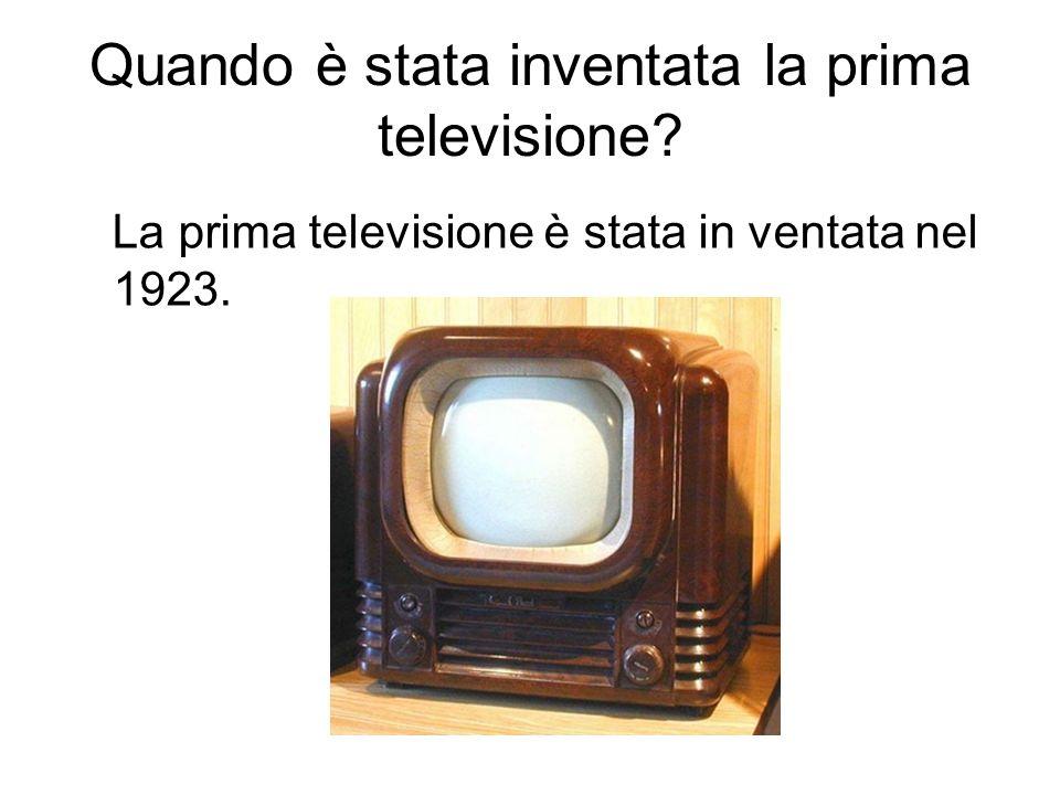 Che cosa è un programma televisivo.