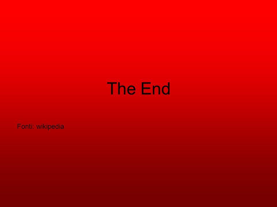 The End Fonti: wikipedia