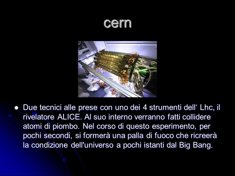 Storia del cern In preparazione al CERN di Ginevra lLHC, la macchina più complessa mai costruita dalluomo.