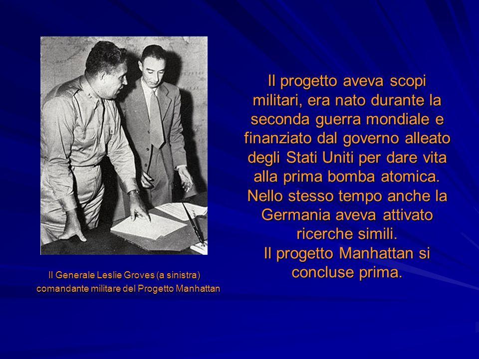 Il progetto aveva scopi militari, era nato durante la seconda guerra mondiale e finanziato dal governo alleato degli Stati Uniti per dare vita alla pr