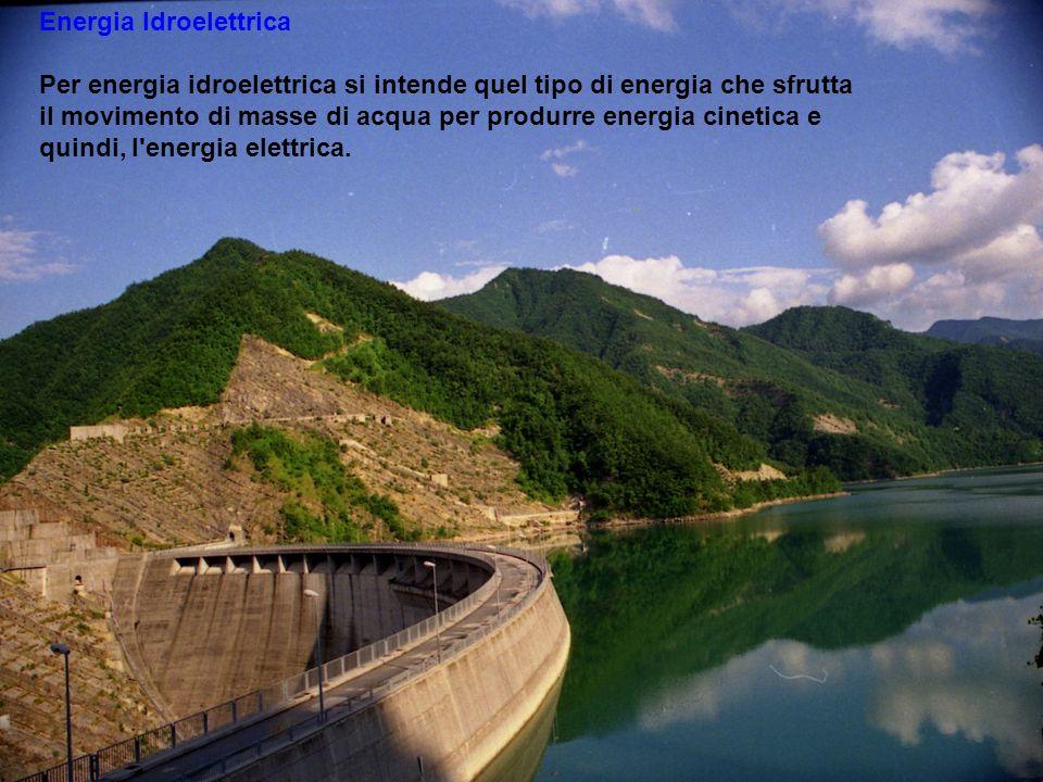 Lenergia Idroelettrica.