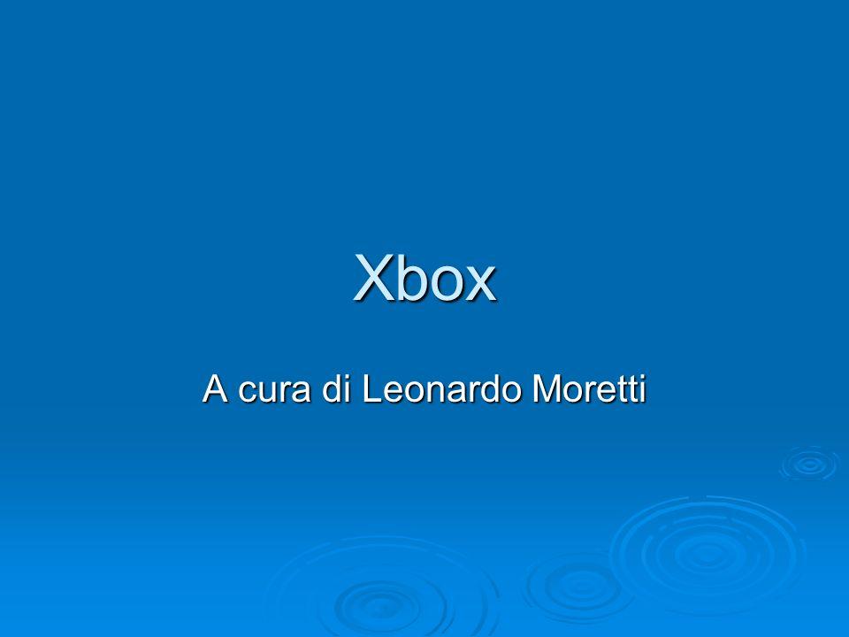 Xbox A cura di Leonardo Moretti