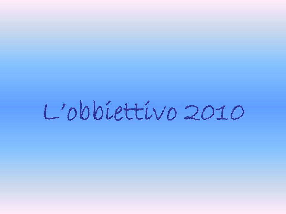 Lobbiettivo 2010