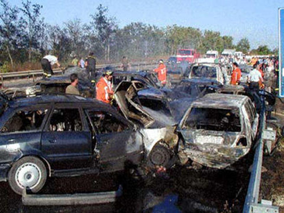 Il 13 settembre 2001 lunione europea ha stabilito un obbiettivo bramoso ovvero bipartire il numero di morti sulle strade entro il 2010.