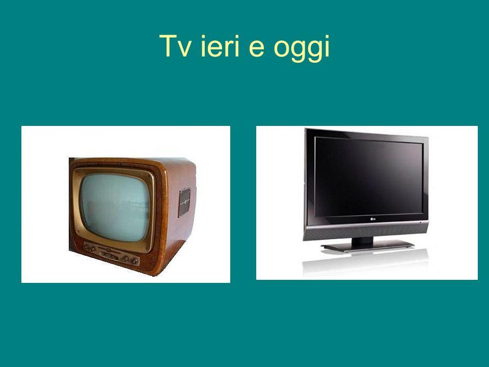 Tv ieri e oggi