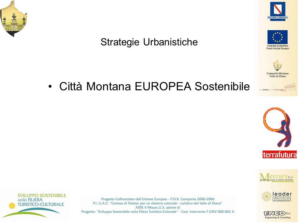 Strategie Urbanistiche Città Montana EUROPEA Sostenibile