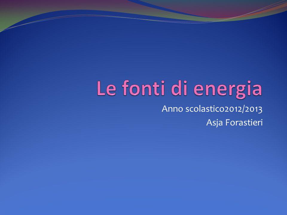 Anno scolastico2012/2013 Asja Forastieri