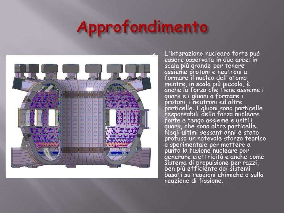 Progetto ITER e DEMO Al momento il progetto più avanzato verso la realizzazione di energia elettrica da fusione è ITER un reattore a fusione termonucleare.
