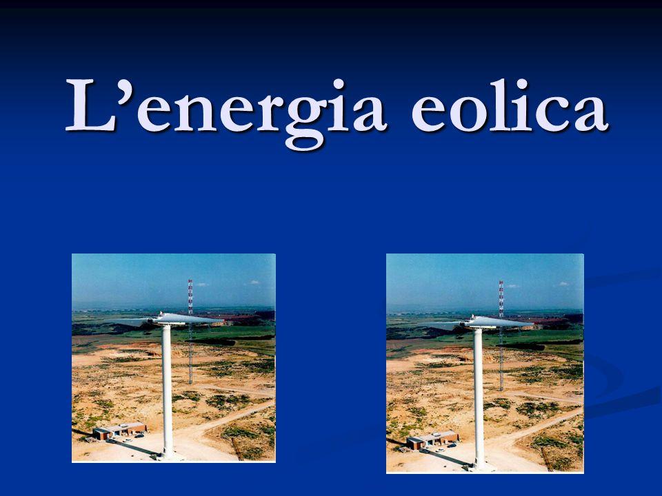 Lenergia eolica