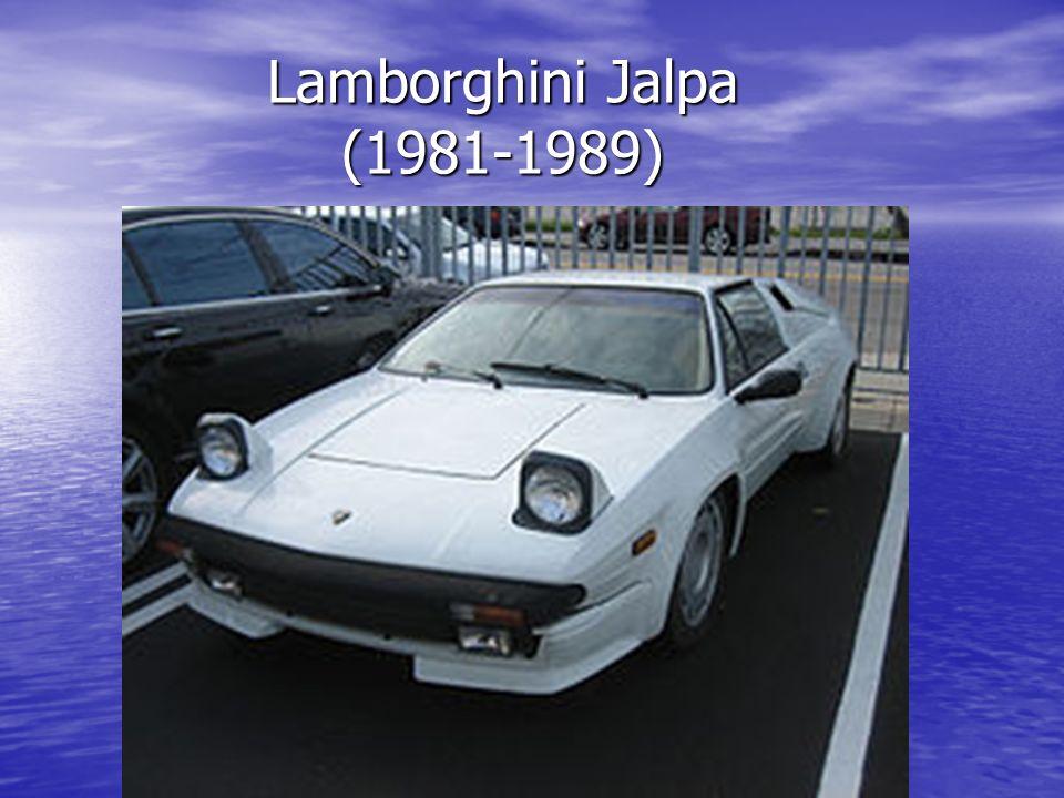 Lamborghini Jalpa (1981-1989) Lamborghini Jalpa (1981-1989)