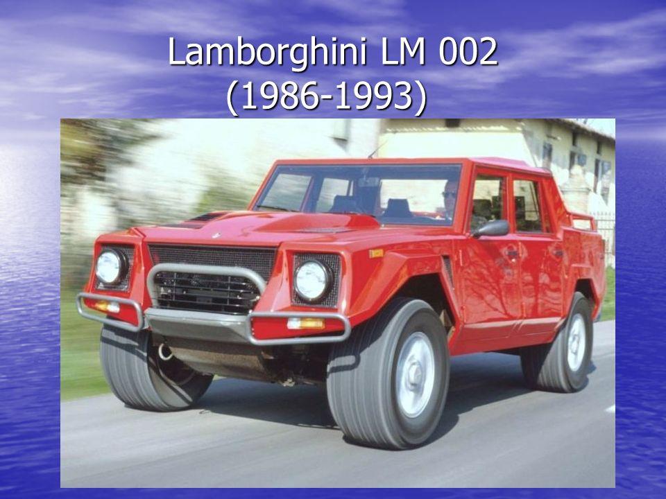 Lamborghini LM 002 (1986-1993) Lamborghini LM 002 (1986-1993)