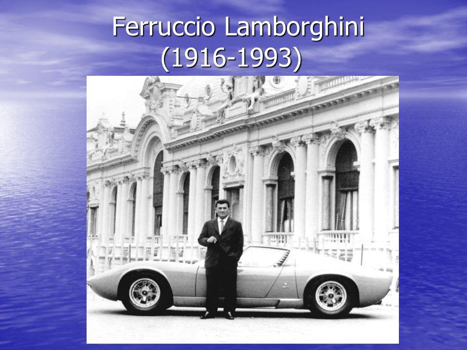 Ferruccio Lamborghini (1916-1993) Ferruccio Lamborghini (1916-1993)
