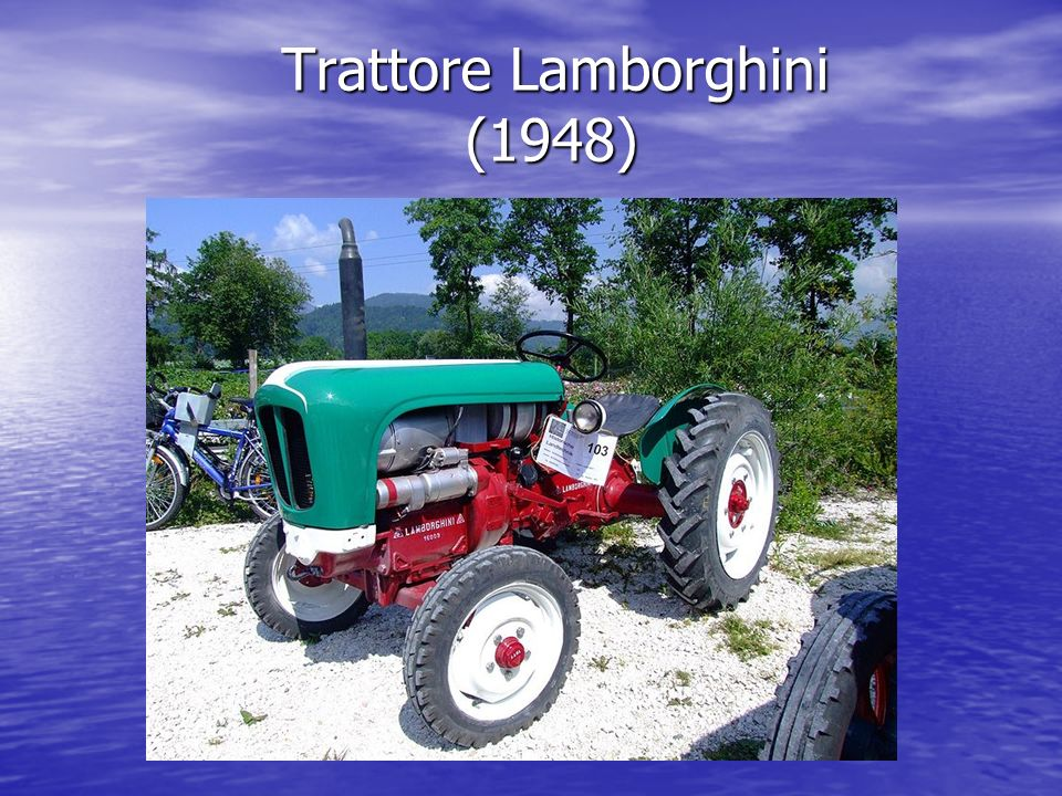 Trattore Lamborghini (1948) Trattore Lamborghini (1948)