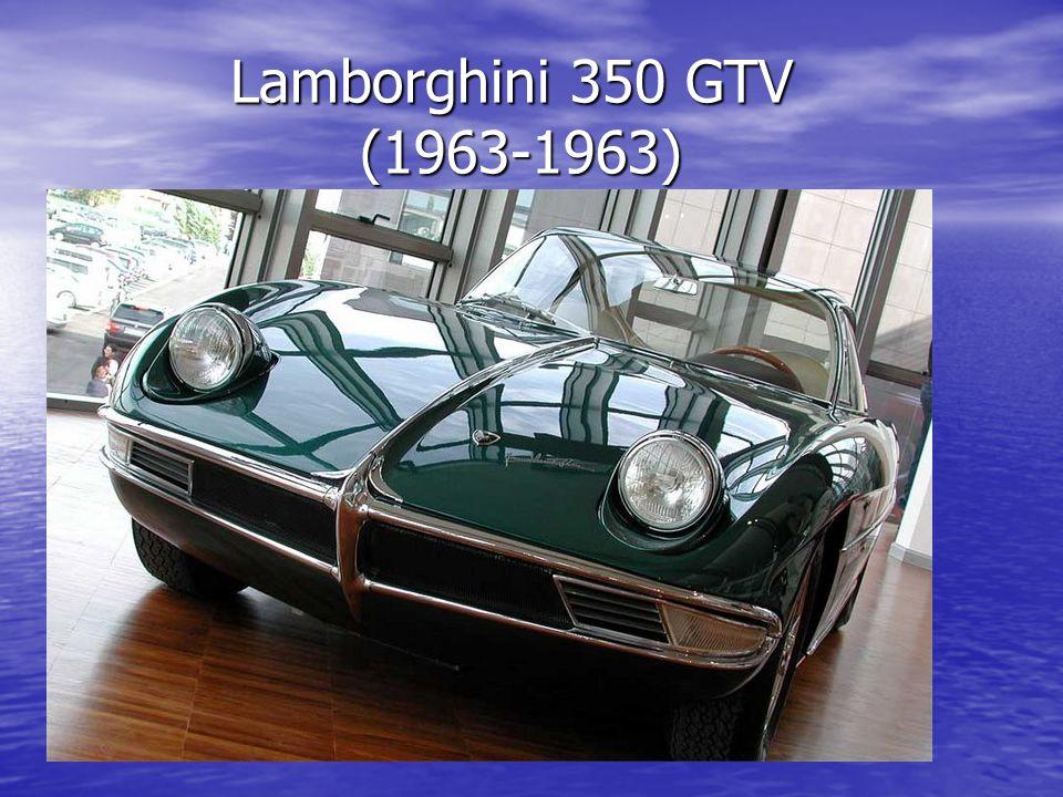 Lamborghini 350 GTV (1963-1963) Lamborghini 350 GTV (1963-1963)