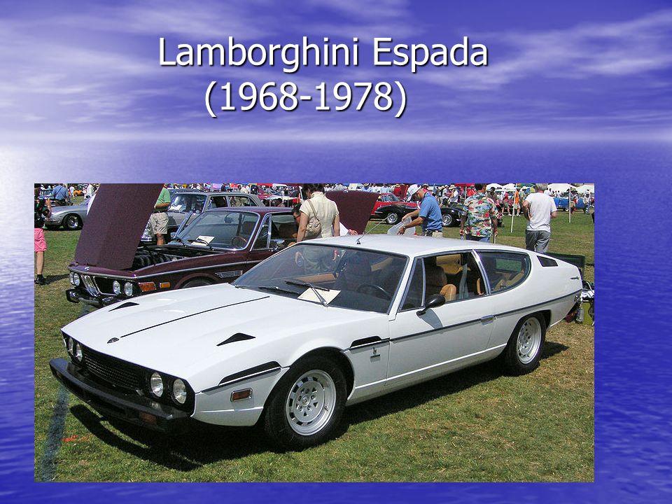 Lamborghini Espada (1968-1978) Lamborghini Espada (1968-1978)