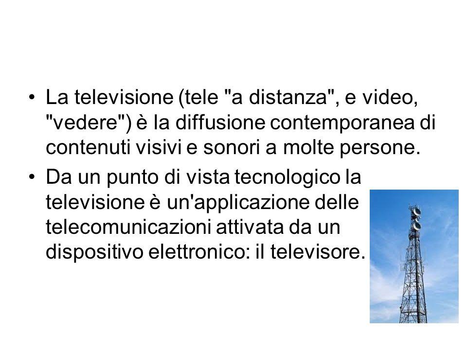 La televisione (tele