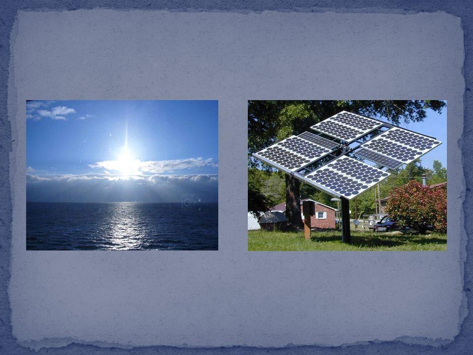 7 L'energia solare si ottiene attraverso i pannelli solari, che possono essere di due tipi: fotovoltaici e fototermici. I pannelli solari fotovoltaici
