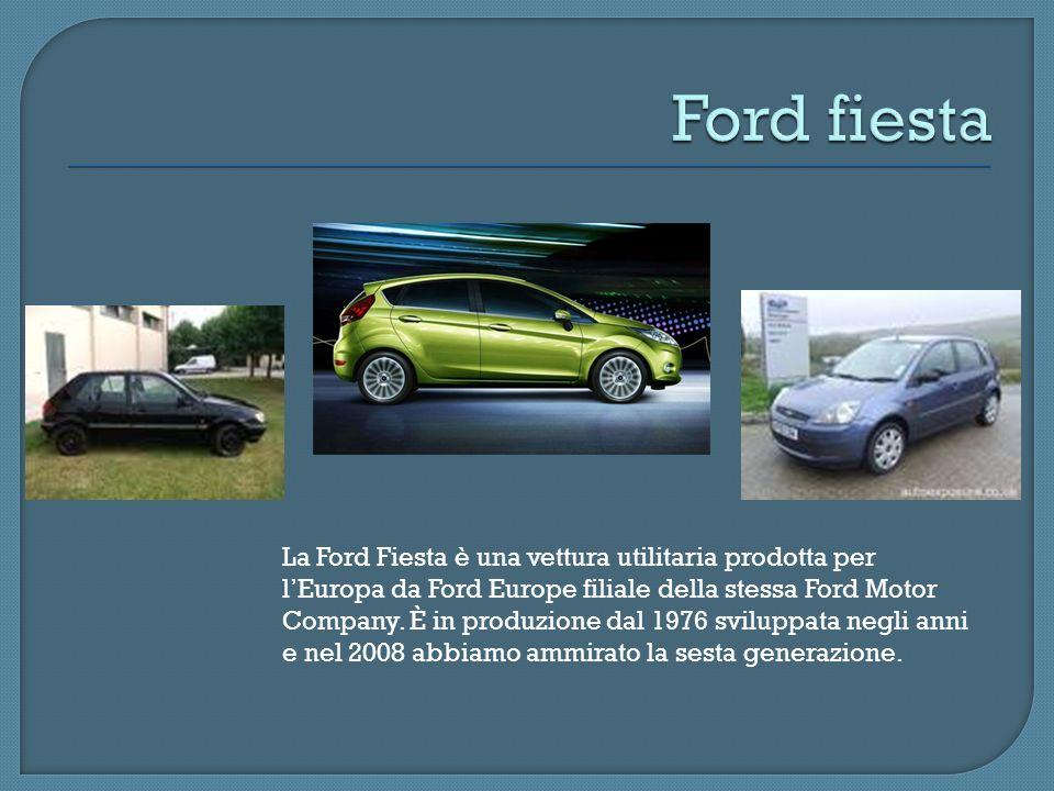La Ford Fiesta è una vettura utilitaria prodotta per lEuropa da Ford Europe filiale della stessa Ford Motor Company. È in produzione dal 1976 sviluppa