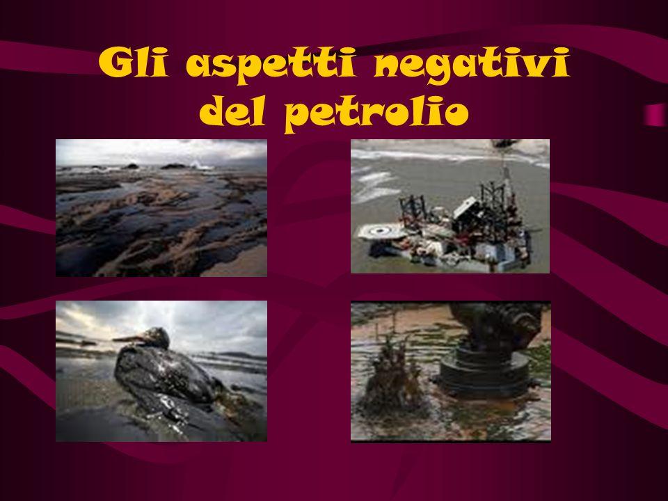 Gli aspetti negativi del petrolio