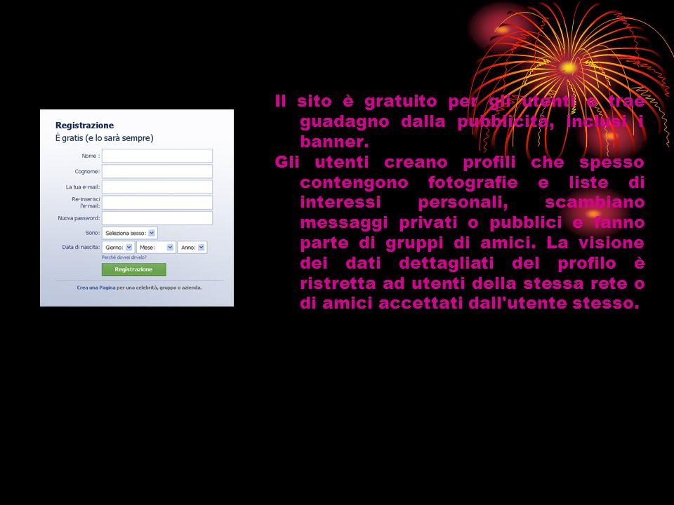 Il sito è gratuito per gli utenti e trae guadagno dalla pubblicità, inclusi i banner.