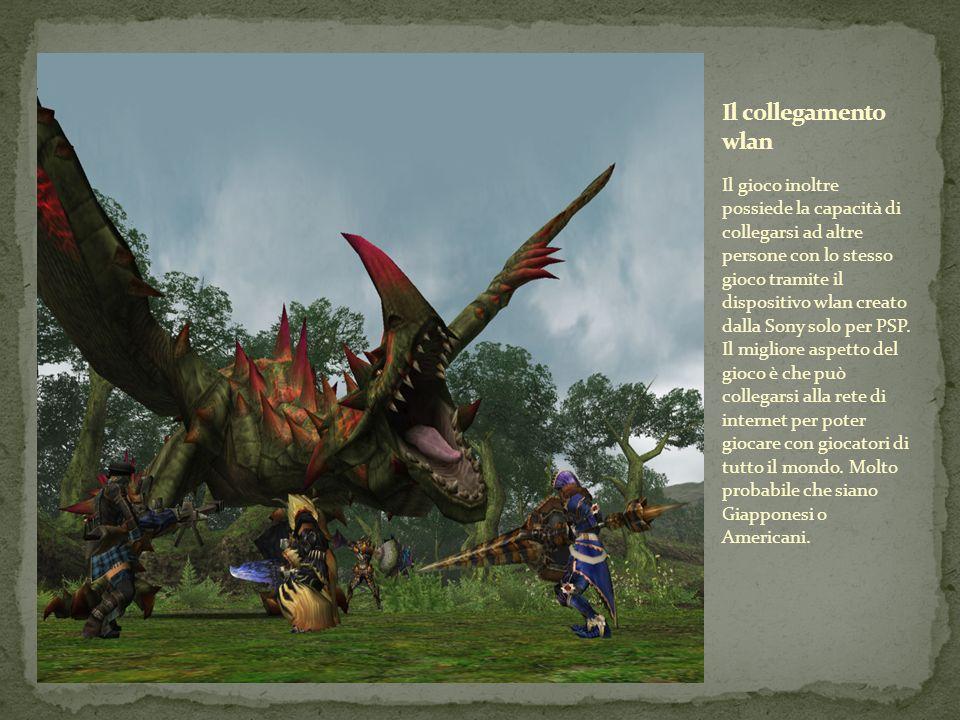 Il gioco inoltre possiede la capacità di collegarsi ad altre persone con lo stesso gioco tramite il dispositivo wlan creato dalla Sony solo per PSP. I