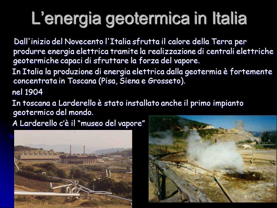 Le centrali geotermiche La centrale geotermica è un tipo particolare di centrale elettrica che produce energia utilizzando il calore delle profondità terrestri.