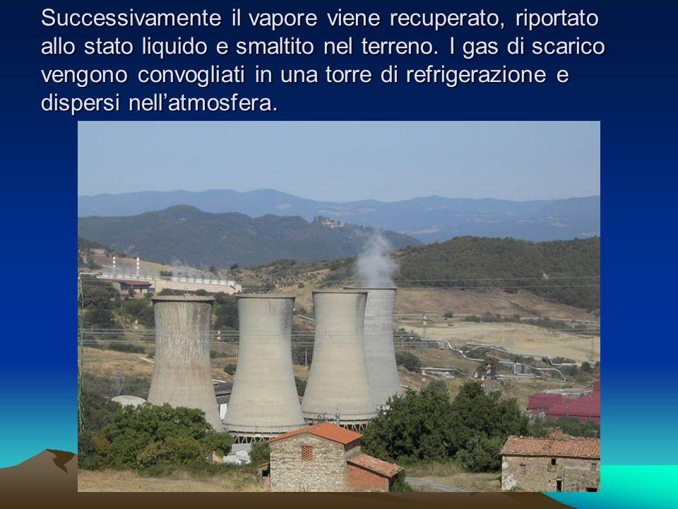 Le centrali geotermiche venivano considerate fino a 60 anni fa pulite, ma negli ultimi anni si è scoperto che anche queste inquinavano lambiente.