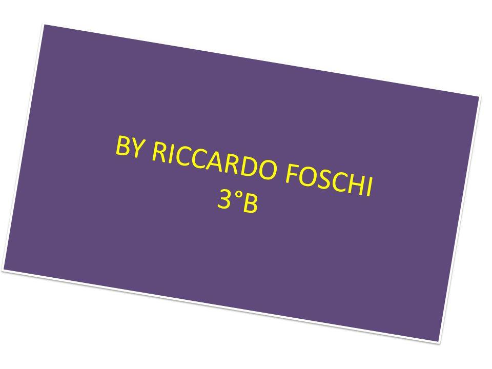 BY RICCARDO FOSCHI 3°B